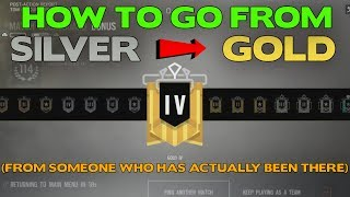 Rainbow Six Siege Tips || How to Rank Up from Silver to Gold