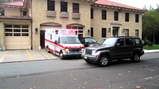 Glen Ridge Volunteer Ambulance Squad responds to a 911 call