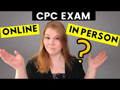 MEDICAL CODING EXAM - CPC - Online or In Person Examination ...