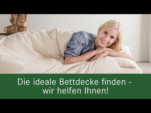 Die perfekte Bettdecke für jedermann - von allnatura