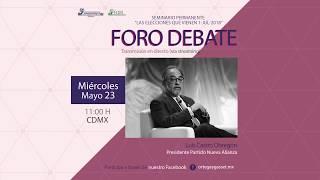 Foro Debate. Luis Castro
