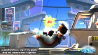 Disney Universe - Wall-E World 3-1 Intro