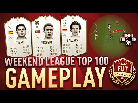 TOP 100 FUT CHAMPIONS GAMEPLAY! TIMED FINESSE OP   FIFA 19 ULTIMATE TEAM