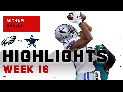 Michael Gallup Dazzles w/ 121 Receiving Yds & 2 TDs | NFL 2020 Highlights