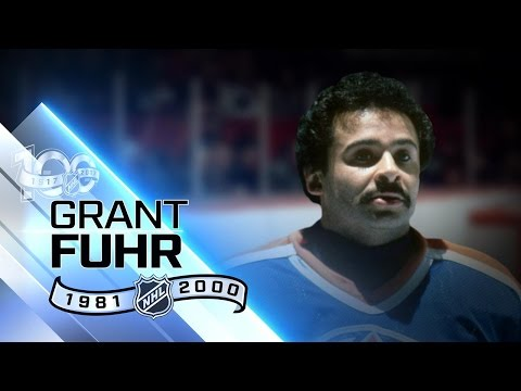 Grant Fuhr was first black player in Hall of Fame