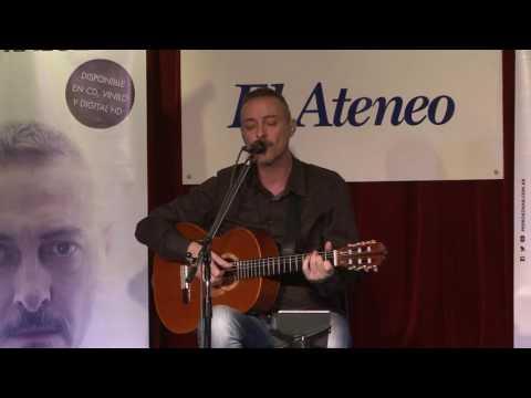 Pedro Aznar video Por la vuelta - Presentación Contraluz 2016