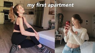 getting my first apartment at 17