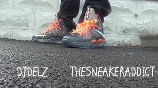 buy online 1ec27 fd718 2013 Nike Lebron 10 BHM BLACK HISTORY MONTH X Sneaker Review With  DjDelz +  On