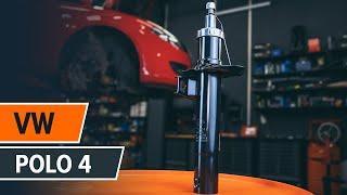 Como trocar amortecedores dianteiros VW Polo | Tutorial HD