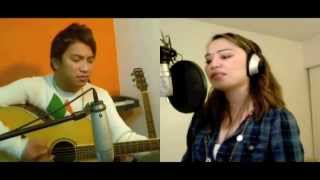 Fixing a broken heart (Acoustic Cover duet) - Diane de Mesa feat. Andrew Garcia