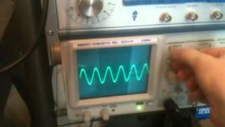 Measuring Resonant Frequency Of Simple LC Coil Circuit