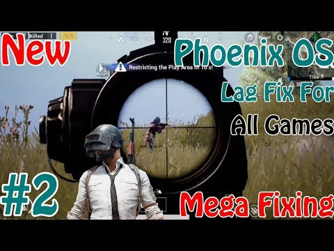 Phoenix OS Increase Performance And Reduce Lag , Play PUBG Mobile