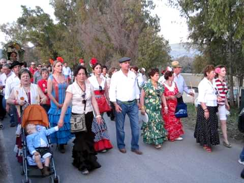 Hermandad Virgen de la Cabeza de Malaga en la Romeria de Teba