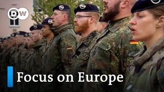 Franco-German Brigade: A model for European military defense?   Focus on Europe