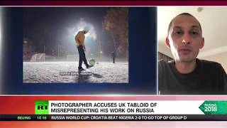 The Sun misuses photographer's images for puff piece on 'poverty-stricken' Russia
