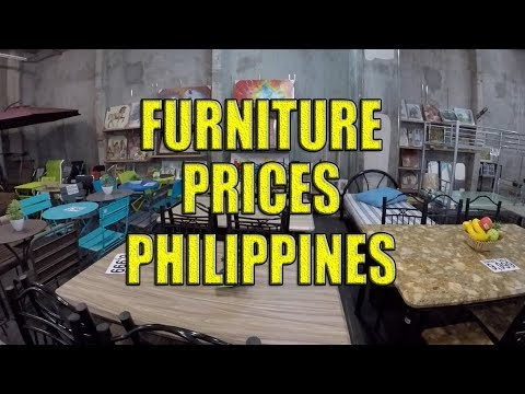 Furniture Prices Philippines.