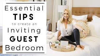 INTERIOR DESIGN | Ideas For How To Create The Perfect Guest Bedroom | House To Home