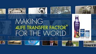 Making 4Life Transfer Factor® for the World