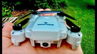 SNAPTAIN A10 Mini Drone with 720P HD Camera Foldable FPV WiFi RC Quadcopter Review