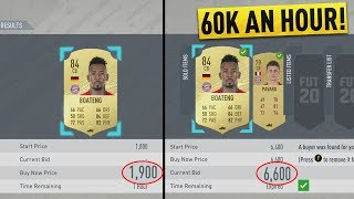 HOW TO MAKE 60K AN HOUR RIGHT NOW! THE BEST *NEW* SNIPING FILTERS ON FIFA 20