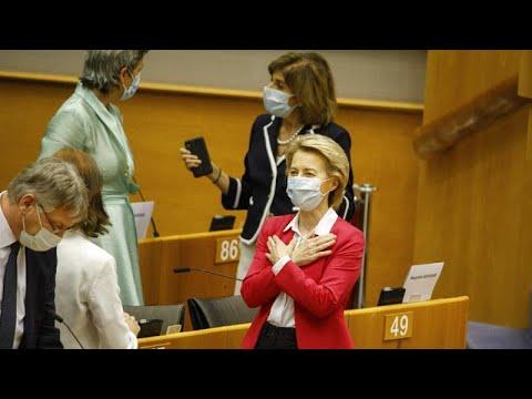 H Ούρσουλα φον ντερ Λάιεν αποκλειστικά στο Euronews