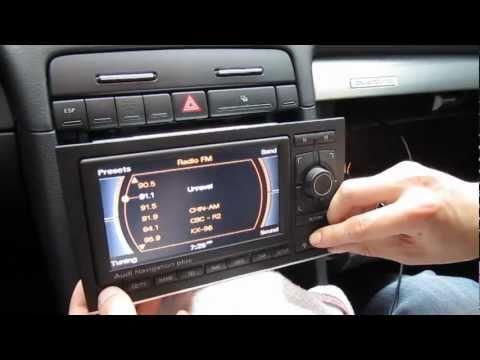 Audi A3, A4, A5, A6 RNS-E iPod iPhone AUX adapter