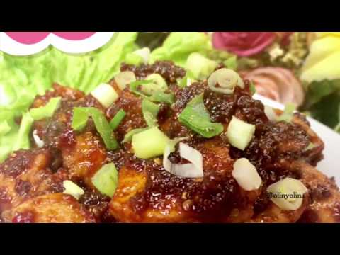 Video Resep Cara Membuat Sate Ayam Goreng Pedas Manis by @olinyolina