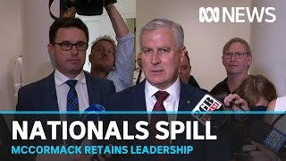 Michael McCormack sees off Barnaby Joyce challenge to remain Nationals leader | ABC News