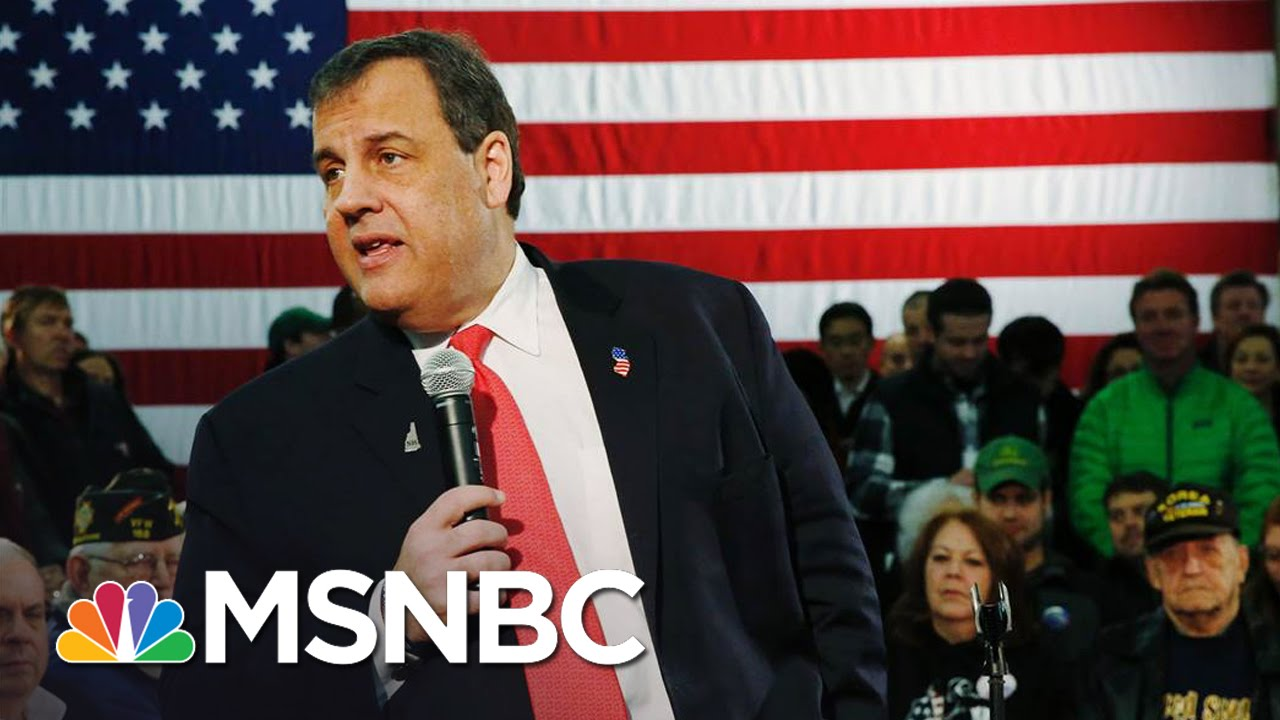 Chris Christie's 'Triumphant Return To Center Stage' | Morning Joe | MSNBC thumbnail