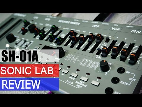 Sonic LAB: Roland SH-O1A Boutique Synthesizer