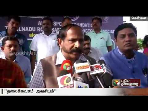 Free-helmets-distributed-in-Chennai-Marina
