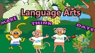 English Learning For Children, Language Arts, Preschool And Kindergarten Activities