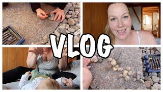 Daily Vlog   Fingerspiele Baby   Steinspiele Kleinkind