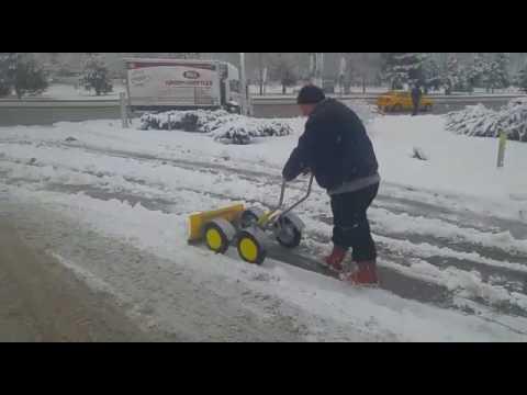 Kar Temizleme aracı, Kar Küreme Aracı, Pratik Kar Küreme