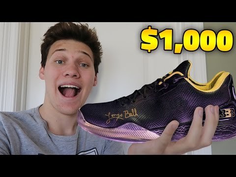 BUYING THE SIGNED $1,000 LONZO BALL ZO2 SHOES!