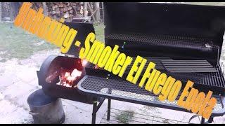 Unboxing Smoker El Fuego Enola
