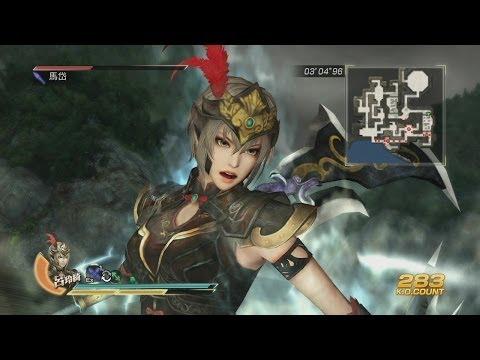 Osm minu z řežby Dynasty Warriors 8: Xtreme Legends