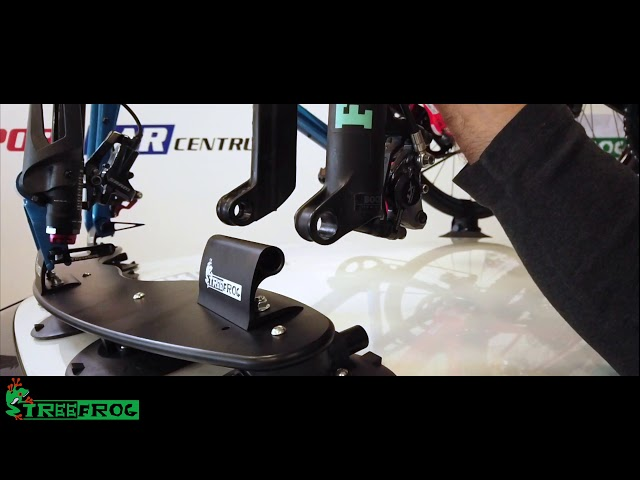 Видео Крепление на крышу Tree Frog Model Pro 3 Bike Cycle Carrier Rack