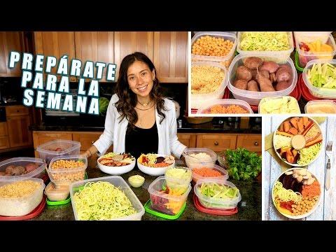 Receta e Ideas Para Comer Saludable Para Toda La Semana