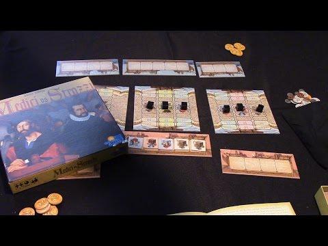 Jeremy Reviews It... - Medici vs Strozzi Board Game Review