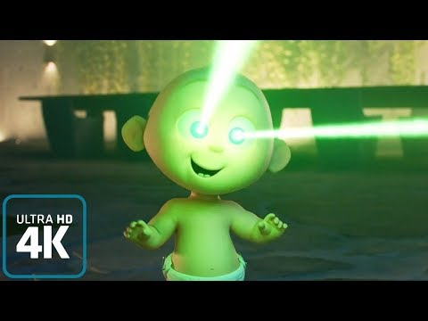 Jack-Jack Parr: All Powers from the Incredibles 2