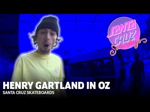 Handrails For Breakfast: Henry's First Trip to Australia! Santa Cruz Saturdays