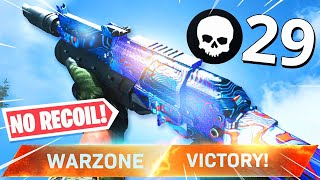 NOBODY LIKES this GUN in WARZONE.. but it literally has ZERO RECOIL! (Modern Warfare Warzone)