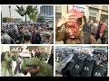 【動画】退役軍人デモがさらに激化 当局は武装警官を多数動員=山東・平度市