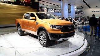 2019 Ford Ranger - 2018 Detroit Auto Show