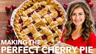 How To Make CLASSIC CHERRY PIE With The BEST CRUST