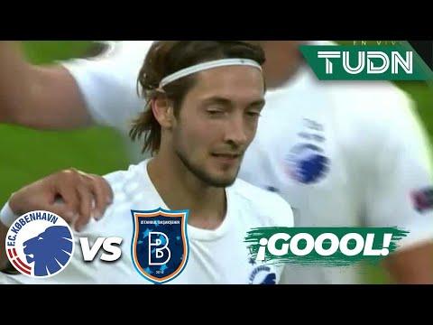 ¡GOOL! Falk agranda la ventaja | Kobenhavn 3-0 Istanbul | Europa League 2020 – Octavos final | TUDN