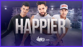 Happier  - Marshmello ft. Bastille | FitDance Life (Choreography ) Dance Video