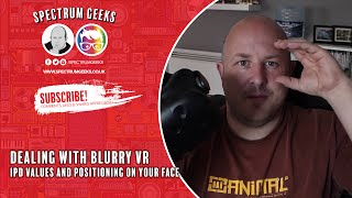 Dealing with Blurriness in VR (HTC VIVE)