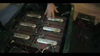 How to Charge Dead Golf Cart Batteries Manually